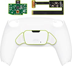 eXtremeRate Kit de replanteamiento programable para controlador PS5 BDM-010, tablero de actualización, carcasa trasera rediseñada y botones traseros para controlador PS5, controlador no incluido