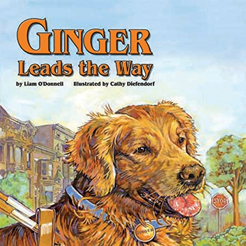 Ginger Leads the Way audiobook cover art