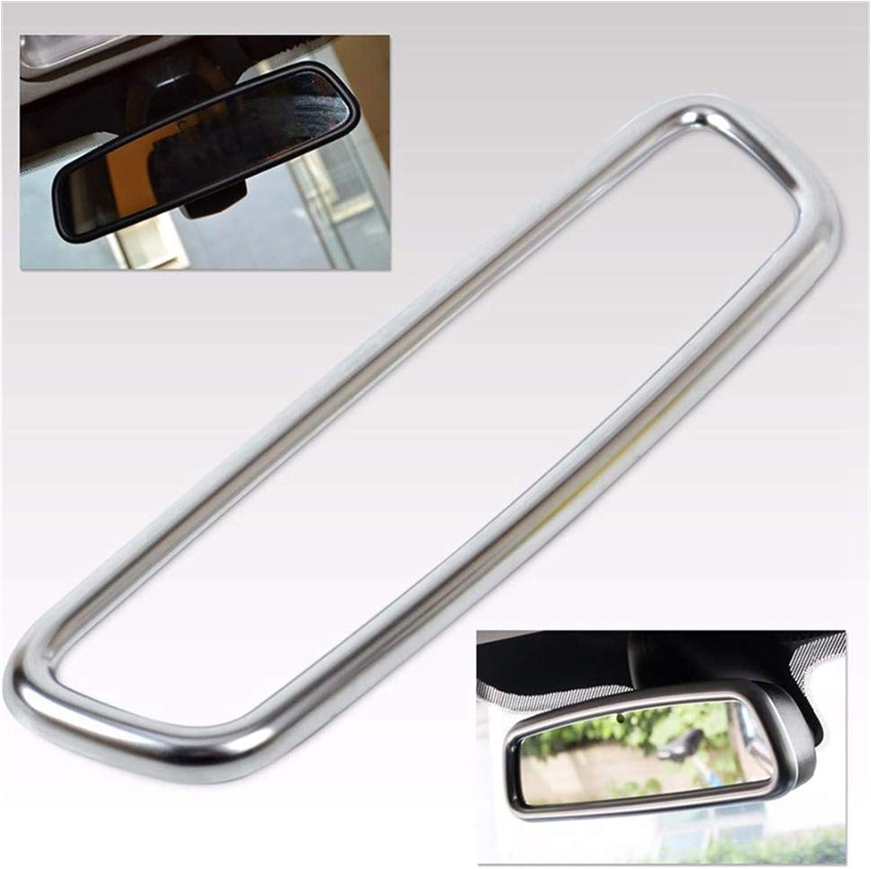 Yuanyuan Chrome Interior View View Specchio Cover Stullaggi Adatto per Volvo XC60 V60 S40 S60 2009-2015 Color : Silver