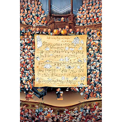 Puzzel Voor Volwassenen, 1000 Stuks, Muziekinstrument Overweging, Volwassen Houten Creatieve Decompressie Kinderspeelgoed Familie Decoratie Kunst Cadeau -P4.15
