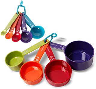 Farberware Color 9-Piece Plastic Measuring Cups and Spoons Set