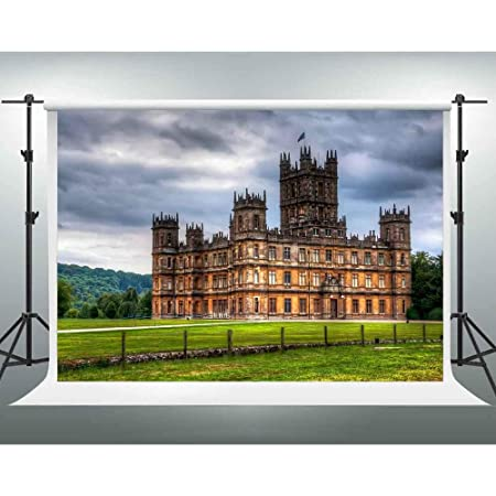 England Highclere Castle Backdrop Downton Abbey TV Fans Photography Background 10x7ft Photo Shoot Props Themed Party Decoration Banner LSGE1415