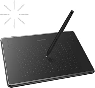 Huion Inspiroy H430P OSU Graphic Drawing Tablet with Battery-Free Stylus 4 Press Keys, Compatible with Chromebook, Androi...