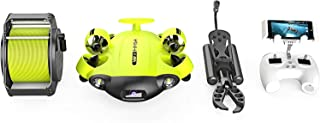 QYSEA FIFISH V6s Underwater ROV Omnidirectional Movement 4K UHD Camera VR Headset Control, True 360°, Ultra Wide Angle, Po...