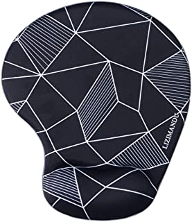 LIZIMANDU Non Slip Mouse Pad Wrist Rest For Office,Computer,Laptop & Mac-Durable & Comfortable & Lightweight For Easy Typi...