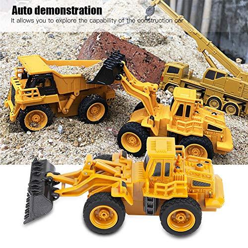 RC Auto kaufen Baufahrzeug Bild 4: Fernbedienung Bagger LKW Bagger Spielzeug RC Kran Mini Baufahrzeug Kinder Geschenk(Kipper)*