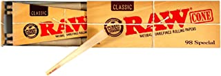 Two Packs of RAW 98 Special 20 Pack of Pre-Rolled Cones Includes Roll with Us Doobtube (2)