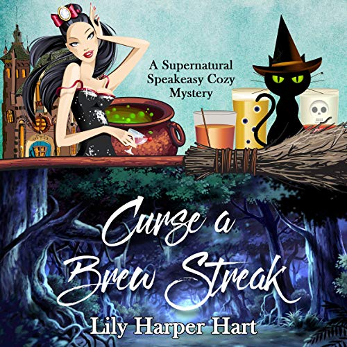 Curse a Brew Streak audiobook cover art