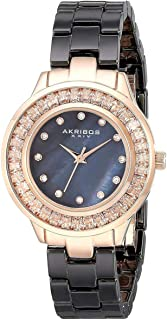 Akribos XXIV Women's Ceramic Band Watch