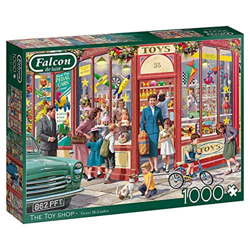 Jumbo- The Toy Shop Puzzle, Multicolore, 11284