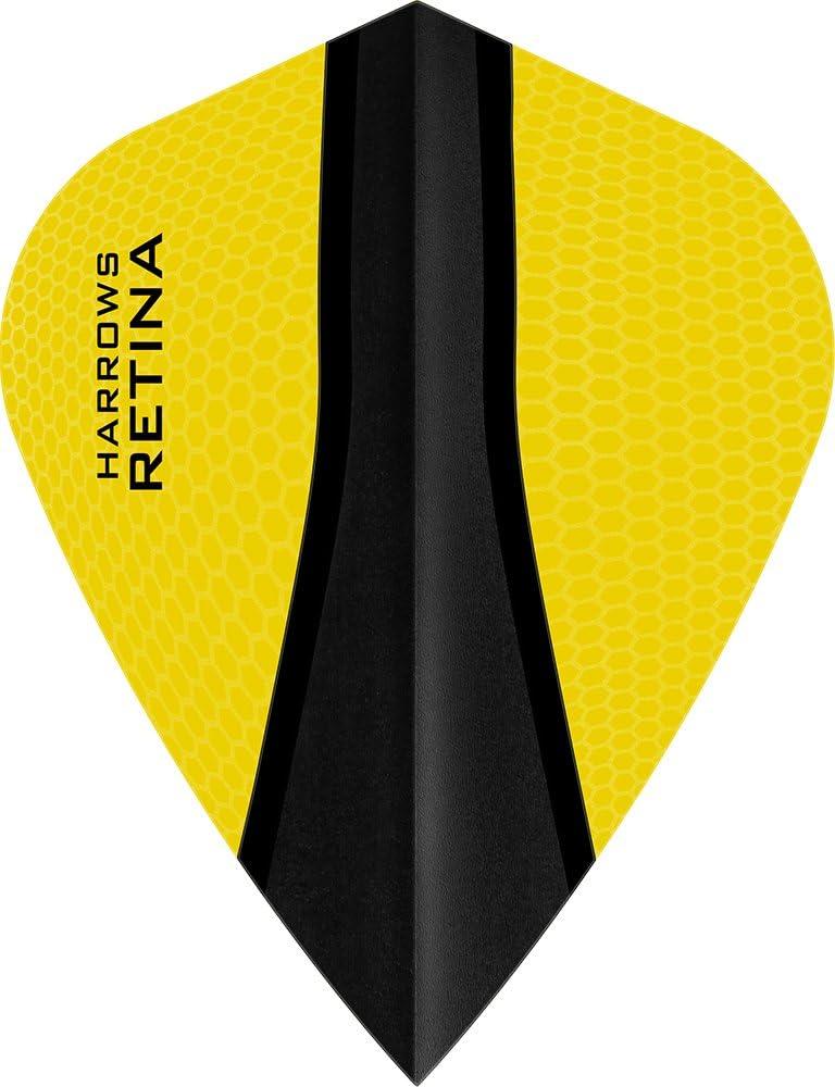 PerfectDarts 5 x Sets Harrows Retina Dart Max 76% OFF Kite OFFicial store Yellow Flights X