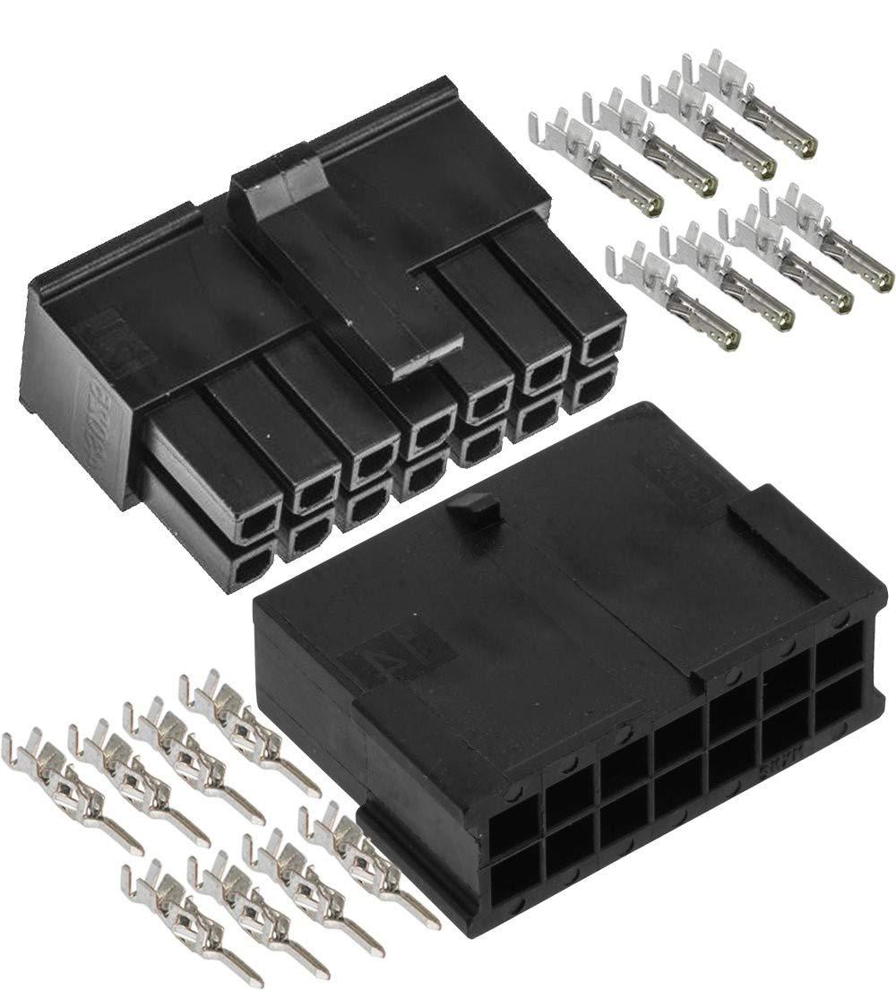 Molex Quantity limited Micro-Fit 3.0 Dual Row Recepta Daily bargain sale Female Male 14 Circuits