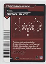 Nickel Blitz (Football Card) 2001-02 NFL Showdown 1st Edition - Plays Defense #P20