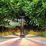 Wlnnes Patio Retro Europeo Luz Impermeable IP55 Concerto de Aluminio COMPRANTE COMPRANTE Grass GARDING Light LUZ Anterior AFACIAL Post Pilar Lantern