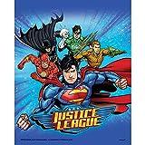 Neu: 8 Partytüten * Justice League * für Kindergeburtstag und Motto-Party | Kinder Geburtstag...