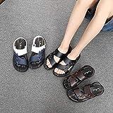 COQUI Hausschuhe Kinder,Sommersandalen Männer rutschfeste Dual-Use-Sandalen, verschleißfeste...
