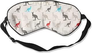 Adult Children Unisex Australia Kangaroos Eyeshade Sleep Mask Eye Mask