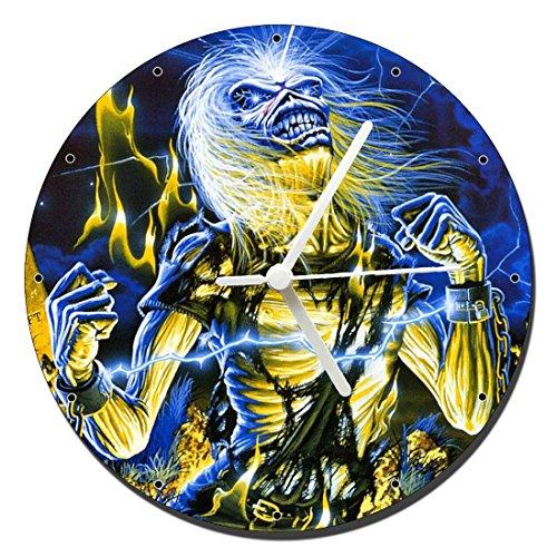 MasTazas Iron Maiden Live After Death Reloj de Pared Wall Clock 20cm