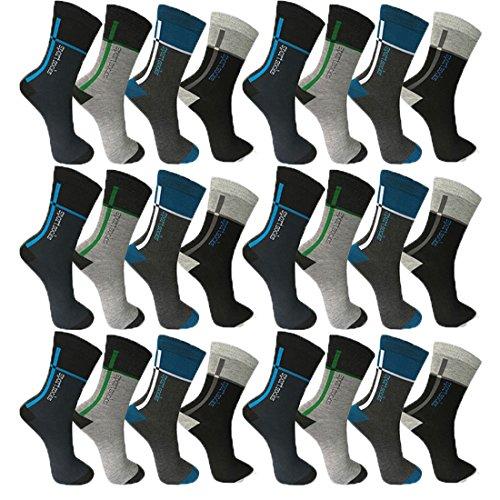 Pesail 10 Paar Herren Socken Größe 39-46 (39-42)