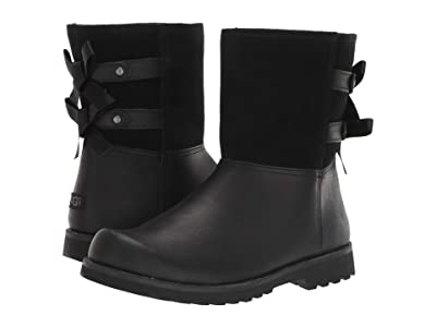UGG Kids Tara (Little Kid/Big Kid) (Black) Girl
