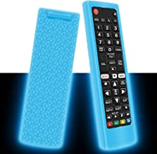 Best Silicone Protective Case for LG AKB75095307 AKB75375604 AKB74915305 Remote Control, Shockproof Anti-Lost Remote Cover Holder Skin Sleeve Protector for LG Smart TV Remote (Glow Blue) Review
