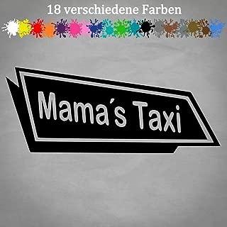 Fun Spruch Schlüsselring Mama/'s Taxi