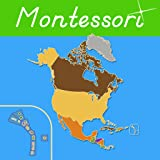 North America - Montessori Geography