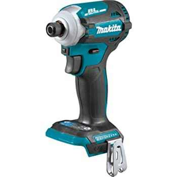 Makita XDT16Z 18V LXT Lithium-Ion Brushless Cordless Quick-Shift Mode 4-Speed Impact Driver, Tool Only