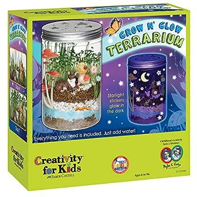 Creativity for Kids Grow 'N Glow Terrarium Science Kits for Kids