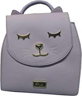 Betsey Johnson Luv Betsey Amara Mid Size PVC Kitsch Backpack Lavender