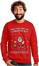 I Touch My Elf Ugly Christmas Sweater Sweatshirt