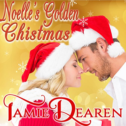 Noelle's Golden Christmas audiobook cover art