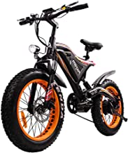 Addmotor MOTAN Electric Bike 500W Brushless Motor Full Suspension Electric Bicycle 48V 11.6Ah Battery 20 Inch Mini Fat Tires M-80 Ebike for Adult