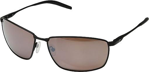 Matte Black/Matte Black/Black/Copper Silver Mirror 580P