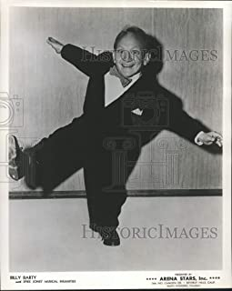 Historic Images - 1964 Press Photo Billy Barty with Spike Jones' Musical Insanities