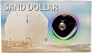 Love Pearl Creations Wish Kit with Pendant Necklace (Sand Dollar)