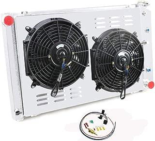 CoolingCare 3 Row Radiator+ Louver Shroud+ 2x12