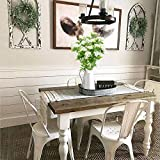 NAHUAA 4pcs Kunstpflanze Klein Plastikblumen Deko Pflanzen Künstliche Pflanze Blume im Topf Tischdeko Blumen für Valentinstag Vase Frühling Stuhl Balkon Garten Hochzeit - 7