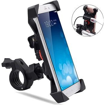 GVDV Soporte Movil para Bicicleta, Moto, Bici, MTB y GPS, Aleación ...
