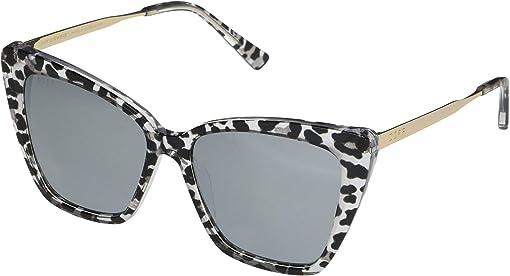 Clear Leopard/Grey