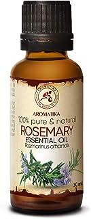 comprar comparacion Aceite Esencial de Romero 30ml - Rosmarinus Officinalis - España - 100% Puro y Natural - Rosemary Essential Oil - Buen Hum...