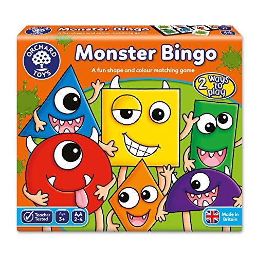 Orchard_Toys El Bingo de los Monstruos -...