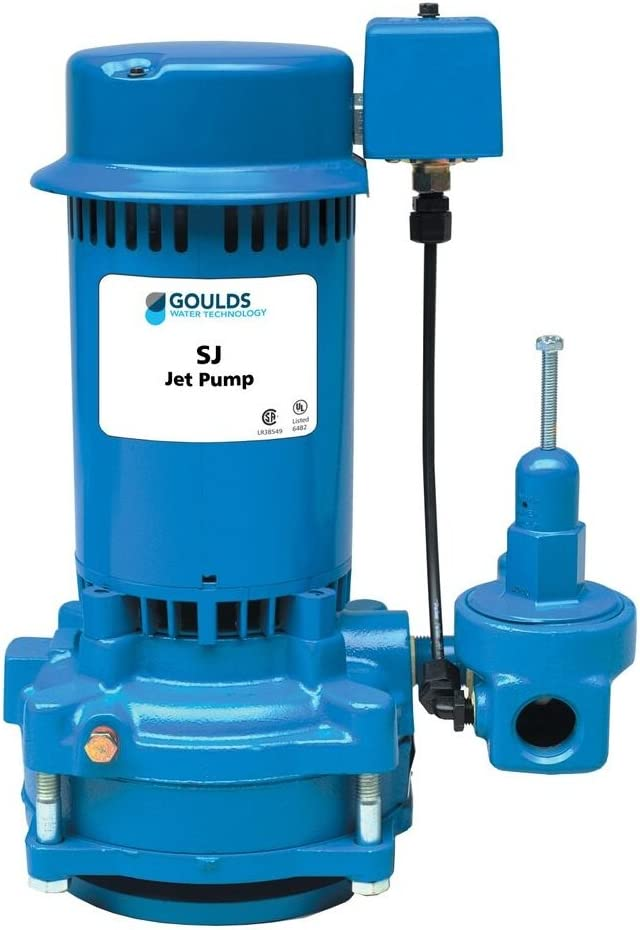 Goulds SJ07 Vertical Deep Water Well Jet Cheap mail order specialty store Pump 3 Elegant Single 4 Ph HP