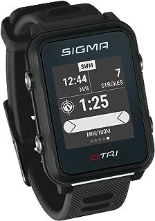 iD.TRI Reloj de triatlón con características de entrenamiento y competición, navegación, notificaciones inteligentes, ligero y a prueba de agua, incl. soporte de bicicleta