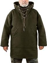 KUYG Herentrui 2020 wol capuchontrui middellang zacht winter warm heren jassen windjack