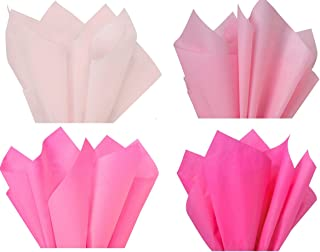 """Pink Mix 1 - Gift Wrapping Tissue Paper 96 Sheets 15"""" x 20"""" Premium Quality Gift wrap Tissue Paper Made in USA"""