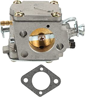 Hilom Carburetor Carb with Gasket for Husqvarna 61 266 268 272 272XP Chainsaw