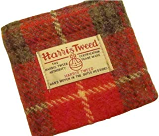 Harris Tweed Man's Wallet - The Hebridean Plaid Design