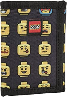 LEGO Kids Minifigure Wallet, Black