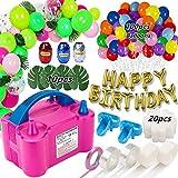 Best Balloon Pumps - Balloon Pump, Portable Dual Nozzle Ballon Inflator Pump Review